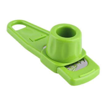 GOOD Multi-Function Ginger Garlic Grinding Slicer Cutter Kitchen Creative Tool - intl