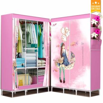 Greatnes D&D Clothes Organizer Foldable Wardrobe 1306