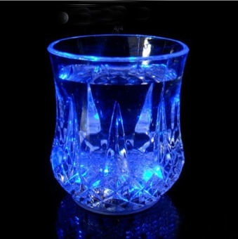 Greatnes D&D QCB-1 Creative Colorful Induction LED Luminescent Glass (Diamond) - 2