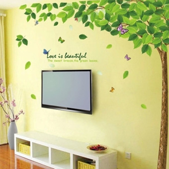 Green Woods Eco-friendly Removable Creative Wall Sticker