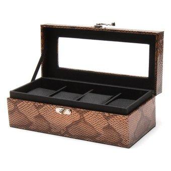 Handicraft 4-Compartment Watchbox (Antique) - picture 2