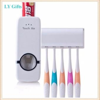 Hands-Free Toothpaste Dispenser (White)