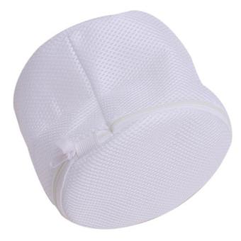 Hang-Qiao Clothes Wash Laundry Thin Mesh Net Portable Wash Bag White