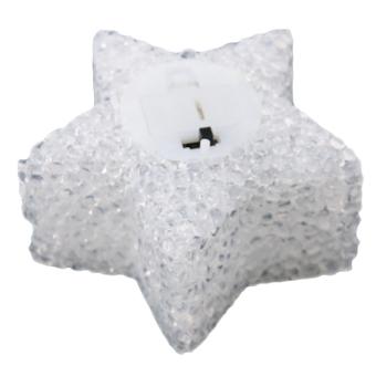 HANG-QIAO LED Light Pentagram Colorful Nightlight Bedroom Flash Light White