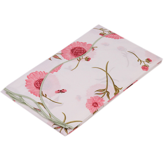 HANG-QIAO PVC Waterproof Flower Tablecloth (Pink) - picture 2