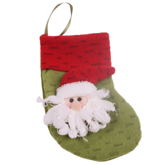Hanyu Christmas Sock Party Decoration Sock #4 Red