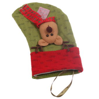 Hanyu Christmas Sock Party Decoration Sock #6 Red