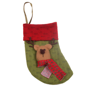 Hanyu Christmas Sock Party Decoration Sock #6 Red - picture 2