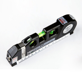 Hanyu Multifunction Laser Level Horizontal Vertical Line MeasureMeasuring Tape 8ft Ruler Aligner - intl - 4