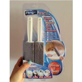 Hanyu Natural Pumice Stone Toilets Dead Gap Brush Sinks Bathtubs Cleaner - intl - 3