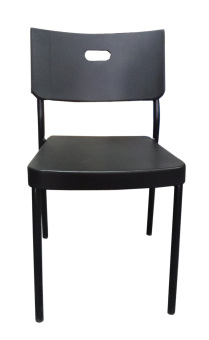 Hapihomes 8008 Deluxe Plastic Stacking Chair (BLACK) Price Philippines