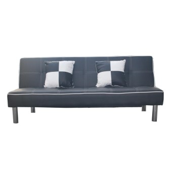 Hapihomes emma sofa bed black lazada ph for Sofa bed lazada
