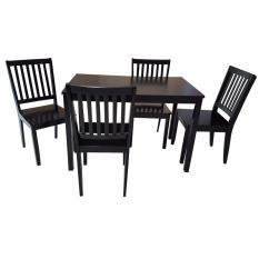 Hapihomes Yaell 4 Seater Dining Set