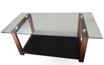 Hapihomes Robert Center Table (Glass Top)
