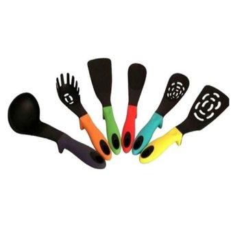 Happily Home Living 6 Piece Colour Kitchen Gadget Set-
