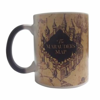 Harry HP Potter Magic Mug Marauder's Map Design