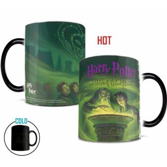 Harry Potter Magical Mugs Heat Sensitive Changing ColorTransforming Marauders Map Mug Mischief Managed Mug Morphing CoffeeMugs Novelty Tea Cups Fashion - intl