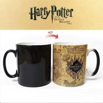 Harry Potter Map Hot Temperature Sensitive Color-Changing Coffee Milk Mug - intl Price Philippines