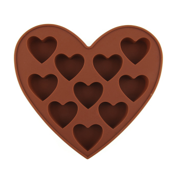 Heart Shape Silicone Cake Cookie Chocolate Mold Mould Ice Cube Tray Baking Tool
