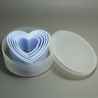 Heart-shaped light vegetable fruit cookie cutter