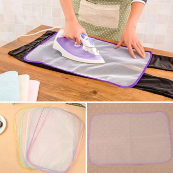 Heat Resistant Ironing Cloth Protective Insulation Pad-hot HomeIroning Mat Mesh White 40*60cm - intl - 3