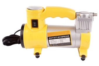 Heavy Duty Air Compressor (Yellow)