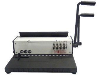 Heavy Duty Double Wire Binding Machine