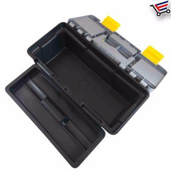 Heavy Duty Multi Purpose Durable High Quality Plastic ToolBox,(Small) - 4