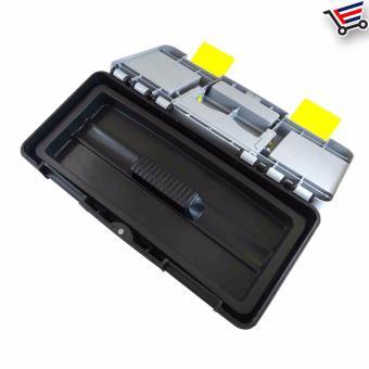 Heavy Duty Multi Purpose Durable High Quality Plastic ToolBox,(Small) - 3