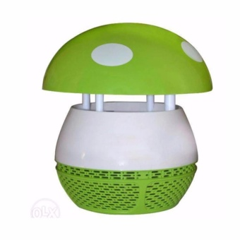 HEL-196 Photocatalyst Mosquito Killer LED Electronic MosquitoInsect Trap Household Repellent Lamp (Green) #0123
