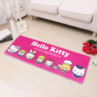Hello Kitty bathroom doorway doormat absorbent mat