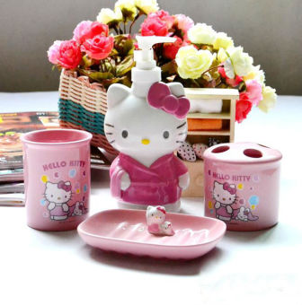 Hello Kitty ceramic washed cups cup