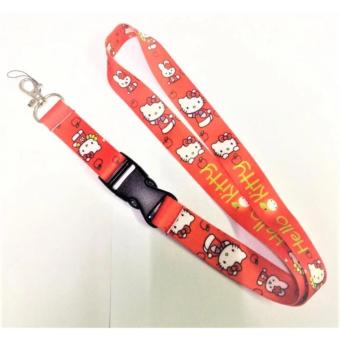 Hello Kitty Cute Character ID Lace (Red) Price Philippines