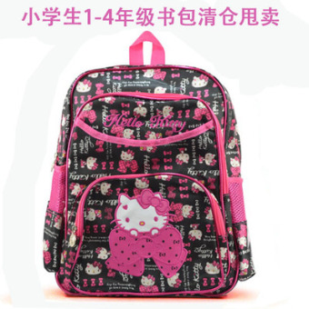 Hello Kitty cute kindergarten large classes in the class backpack children's school bag