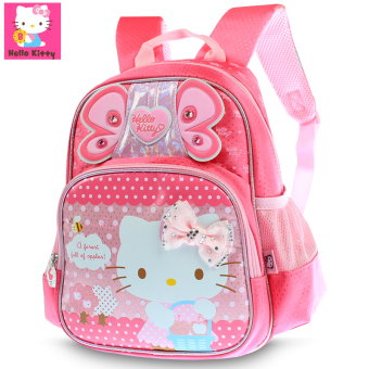 Hello Kitty in the large class female backpack kindergarten school bag