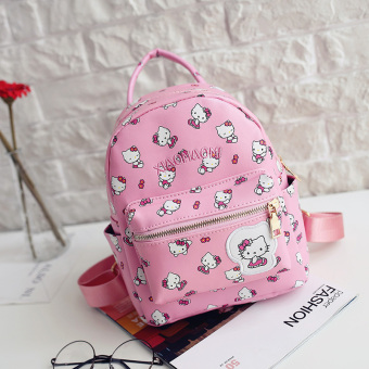 Hello Kitty Korean-style girl's travel bag children's bag