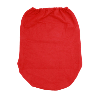HengSong Christmas Santa Toilet Seat Cover and Rug Toilet setsMulticolor - Intl - 4