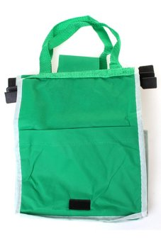 HengSong Supermarket Admission Storage Bag Green