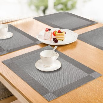 Shop Online Hepheas Pvc Place Mats Dining Room Placemats For Table ...