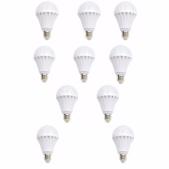 Hi-Q Sonic LED Emergency Rechargeable Bulb 12 Watts Set of 10 Price Philippines