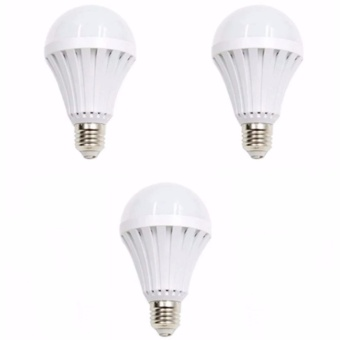 Hi-Q Sonic LED Emergency Rechargeable Bulb 12 Watts Set of 3 Price Philippines