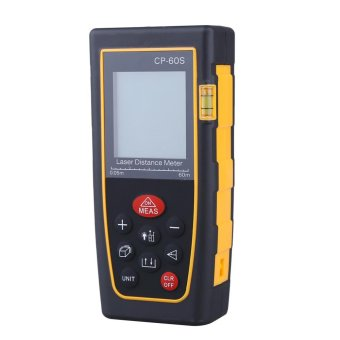 High Accuracy Handheld Digital IR Laser Distance Meter Bubble LevelMeasure Rangefinder 60M - intl