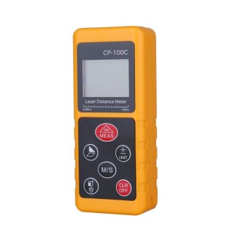 High Accuracy Handheld Digital IR Laser Distance Meter Compact LCDMeasure Tool 100M - intl