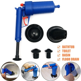 High Pressure Air Drain Blaster Pump Plunger Sink Pipe Clog Remover Cleaner Tool - intl
