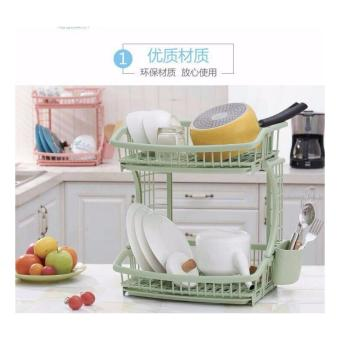 High Quality Kitchen Dish Drainer Drying Rack Holder Organizer