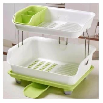 High Quality Kitchen Dish Drainer Drying Rack Holder Organizer Tray