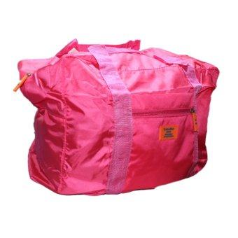 High Quality Large Foldable Travel Bag (Pink)
