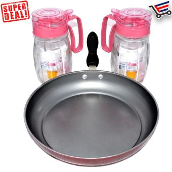 High Quality Non Stick Frying Pan with 2 Piece Oil Pot - 5