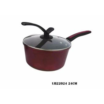 High Quality Non-Stick Pan ub220 24cm Frying Pan Rustless NoOil-Smoke Cooking Tools Cookware Kitchen Supplies Home Appliance