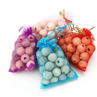 High Quality Store New 20Pcs Cedar Moth Balls Bug RepellentWardrobes 1 Bag - 3